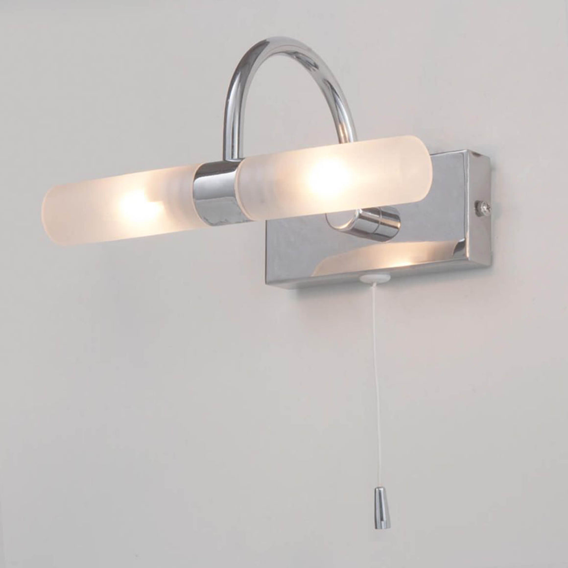 Forum Corvus Double Bathroom Wall Light - Bathroom - Lampsy