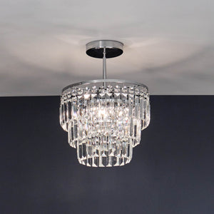 Forum Dana Semi-Flush Chandelier - -Lampsy