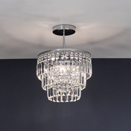 Dana Semi-Flush Chandelier
