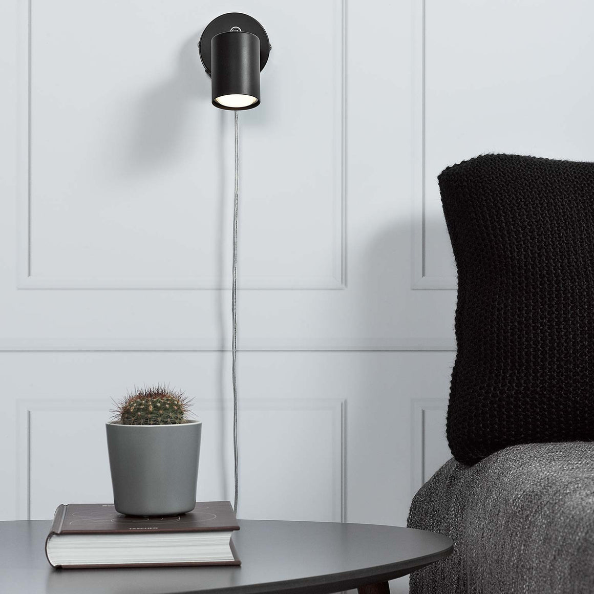 Nordlux Explore Wall Lamp - Black - Wall Lights - Lampsy