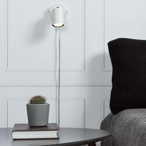 Nordlux Explore Wall Lamp - White-Lampsy