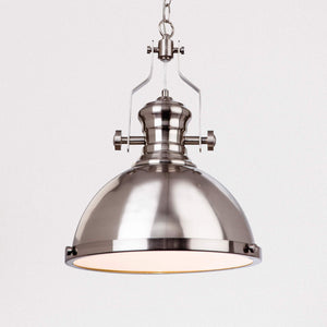 Lampsy FLR Trey Nautical Pendant - Brushed Steel-Lampsy