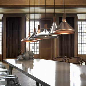 Nordlux Float 27 Copper Pendant Light - Ceiling Lights - Lampsy