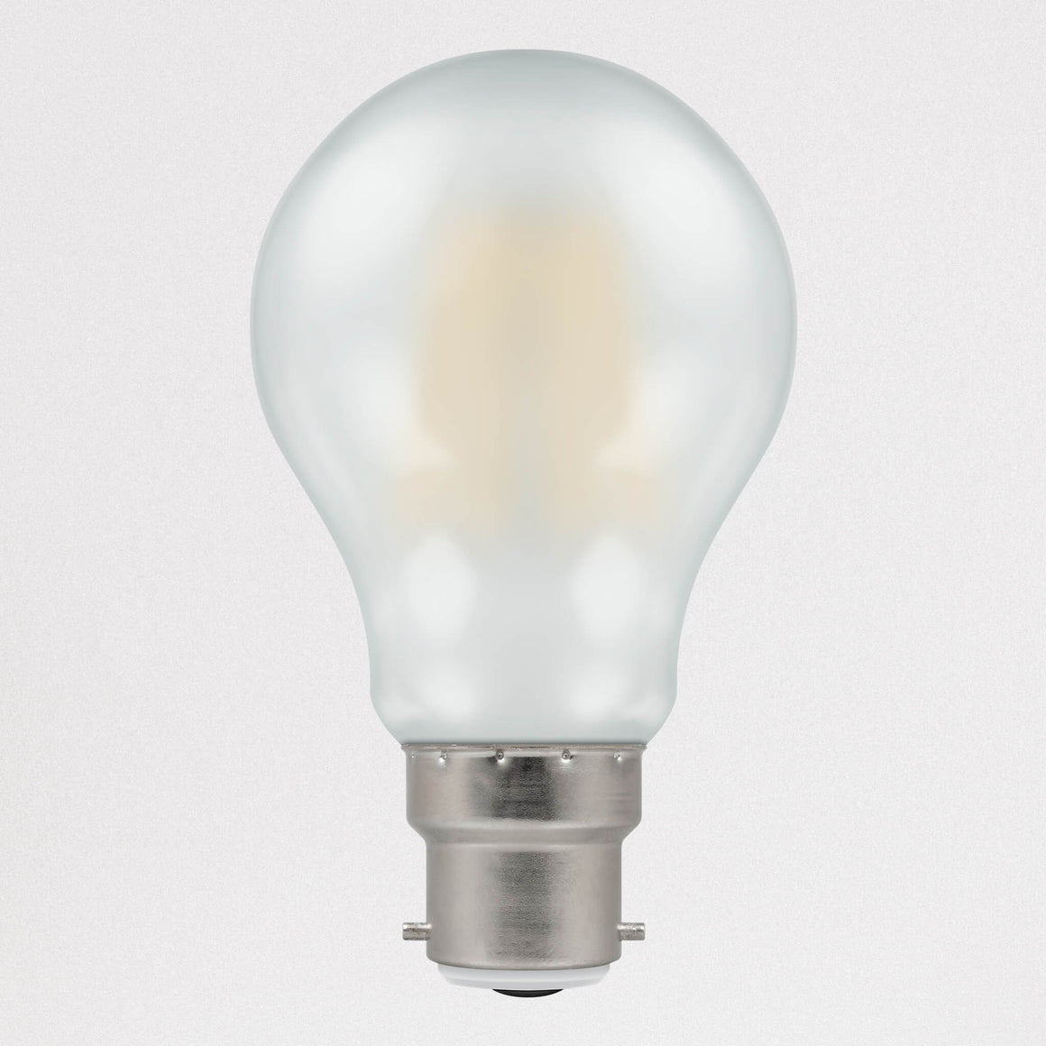 Crompton LED Filament GLS Pearl Dimmable 5w B22 - Light Bulbs - Lampsy
