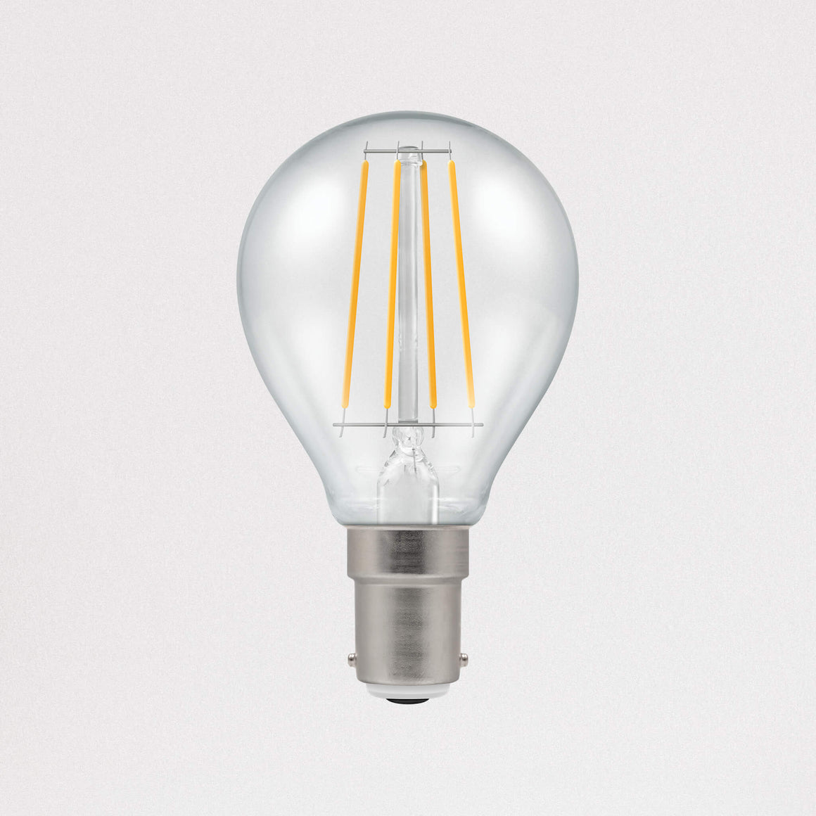 Crompton LED Filament Golf Dimmable 5w B15 - Light Bulbs - Lampsy