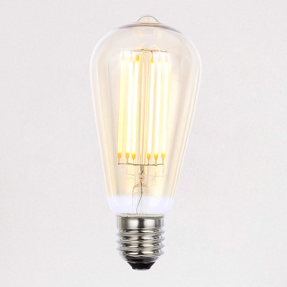 450lm ST64 Tinted 2200k Dimmable LED Filament Light Bulb E27