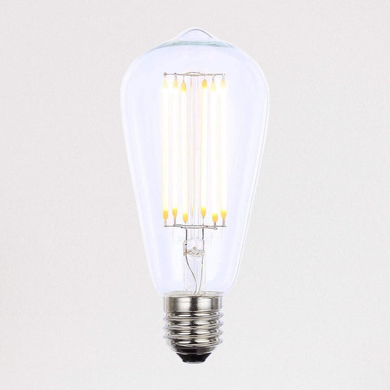 500lm ST64 2200k Dimmable LED Filament Light Bulb E27