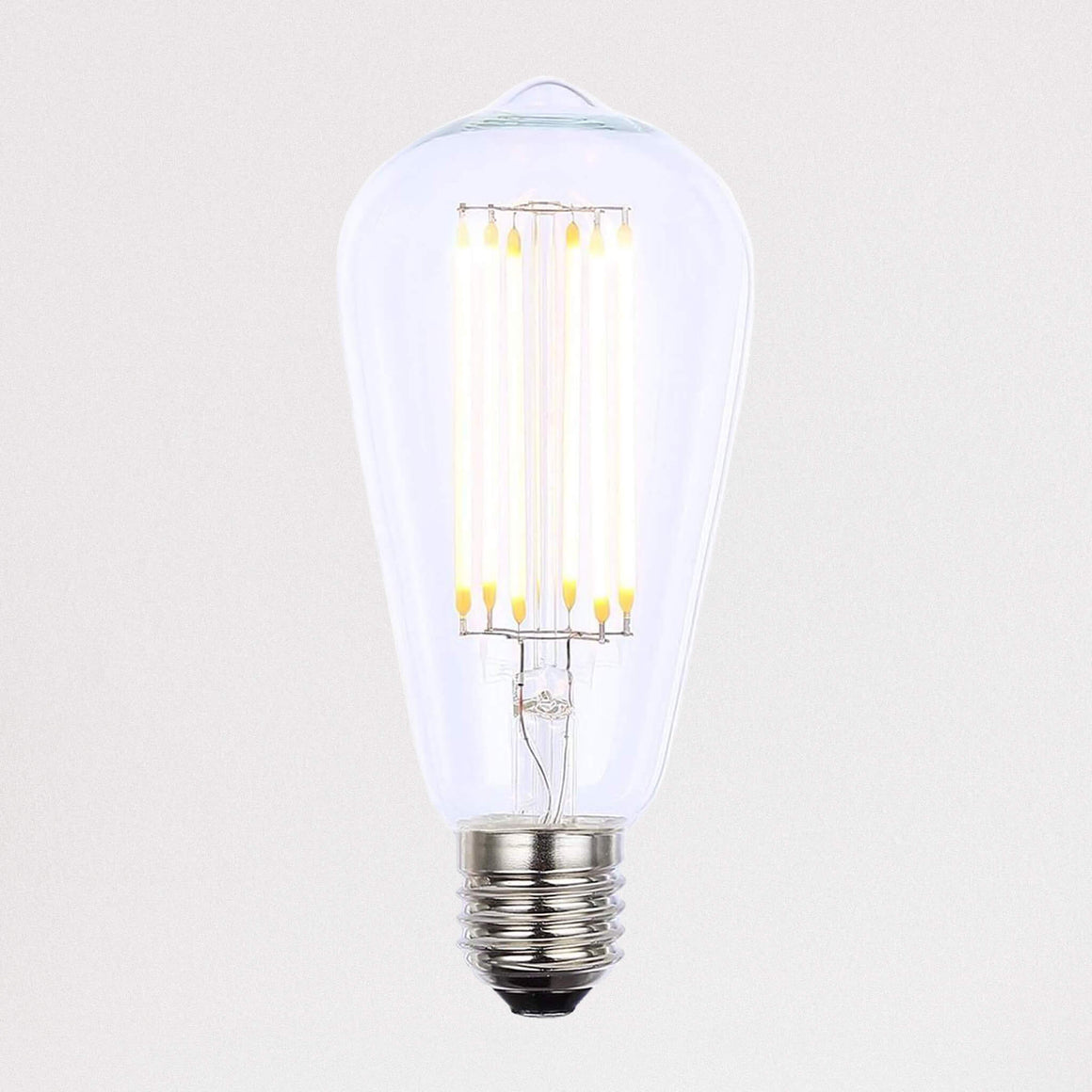 Vintage Filament 6w LED E27 ST64 Pear