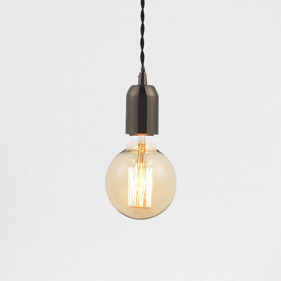 Lumit Edison Pendant Light - Black Nickel