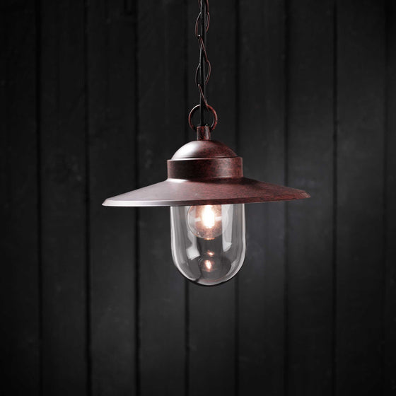 Nordlux Luxembourg Pendant Light - Rust - Outdoor Lighting - Lampsy