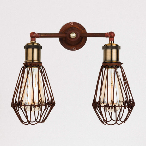 Maison Twin Wall Light