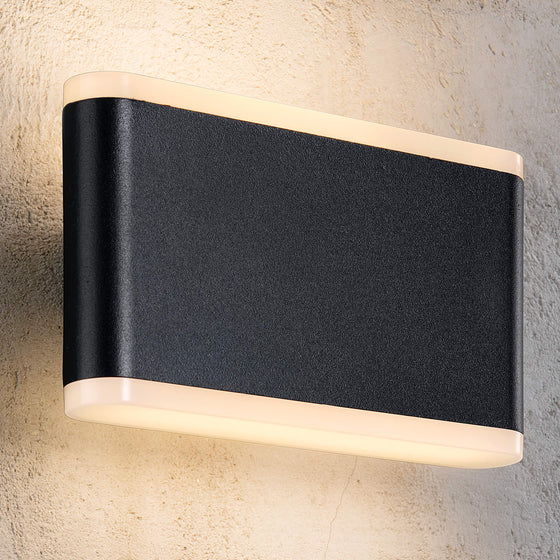 Akron LED Up & Down Wall Light