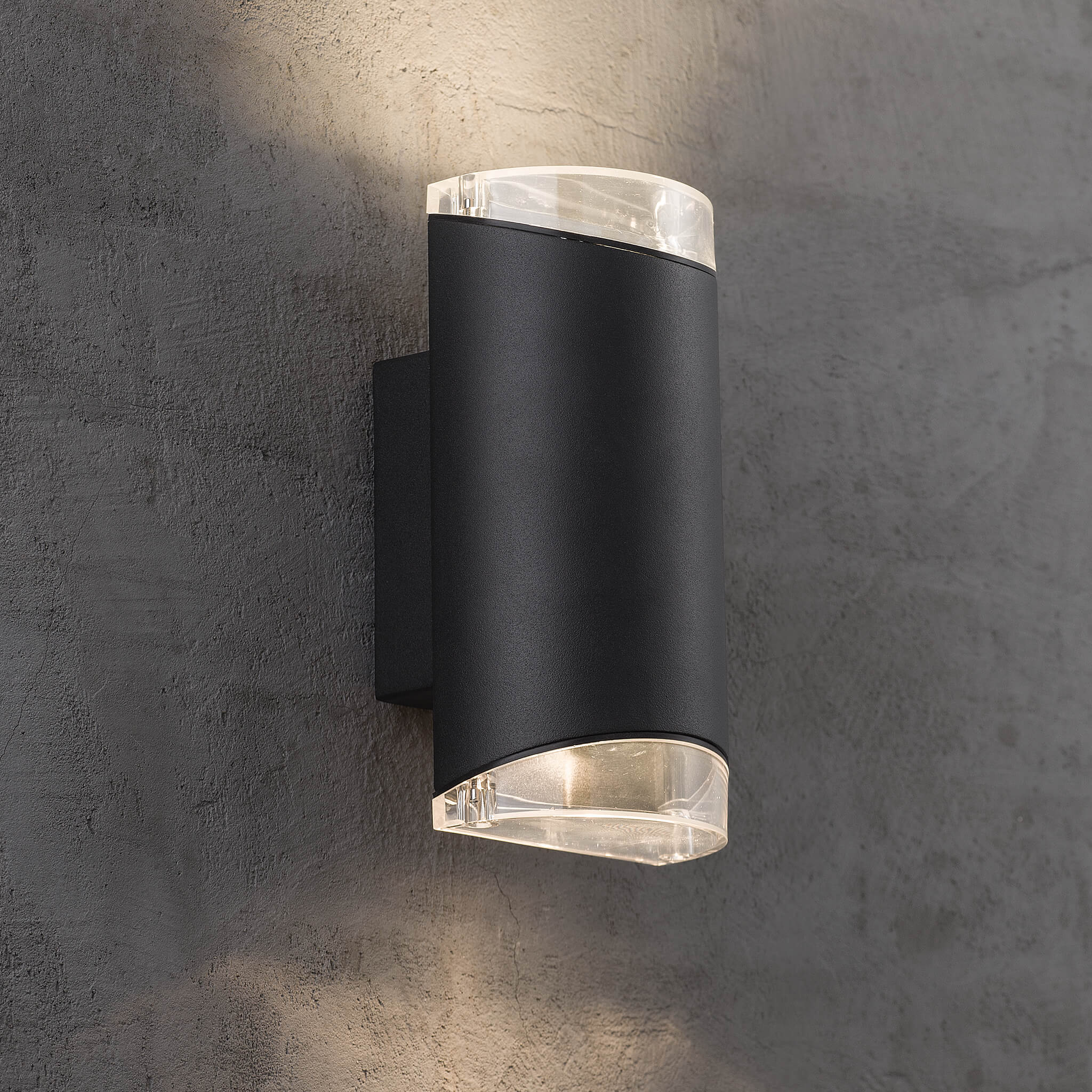 Picture of: Nordlux Arn Up Down Outdoor Wall Light Lampsy