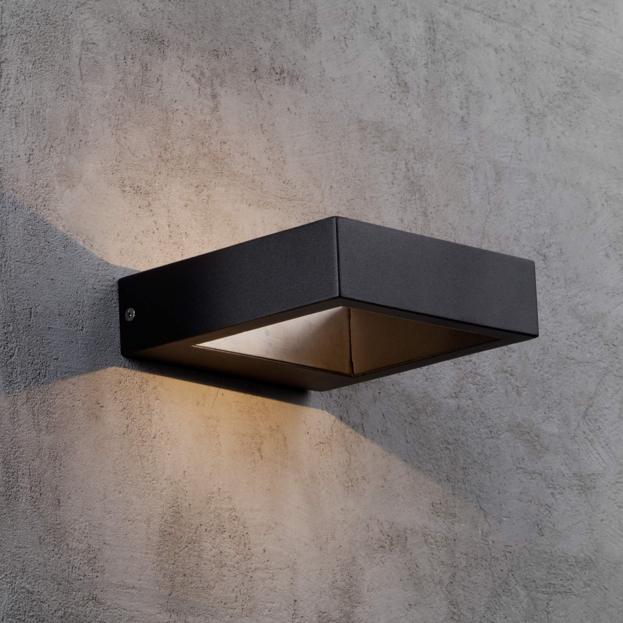 Nordlux Avon Led Contemporary Outdoor Wall Light Black Lampsy