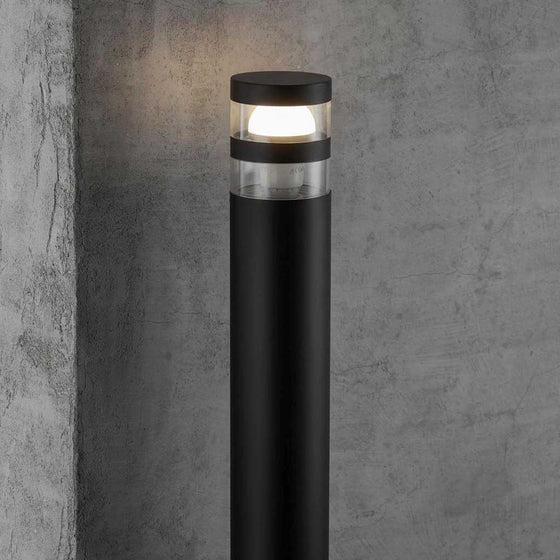 Nordlux Birk Garden Post Light - Black - Outdoor Lighting - Lampsy