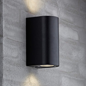 Nordlux Canto Maxi 2 Wall Light - Black-Lampsy