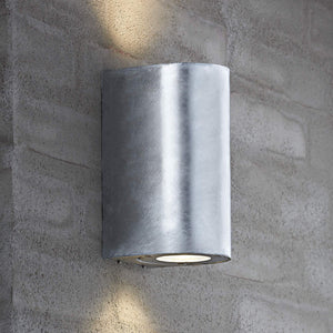 Nordlux Canto Maxi 2 Wall Light - Galvanised-Lampsy