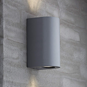 Nordlux Canto Maxi 2 Wall Light - Grey-Lampsy