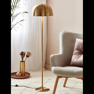 Nordlux Nordlux Cera Floor Lamp - Brass - -Lampsy