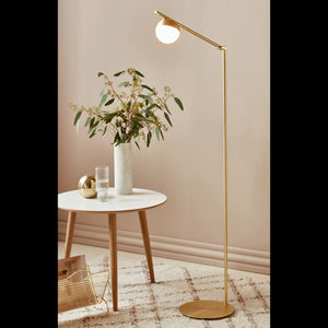 Nordlux Contina Swing Arm Floor Lamp - -Lampsy