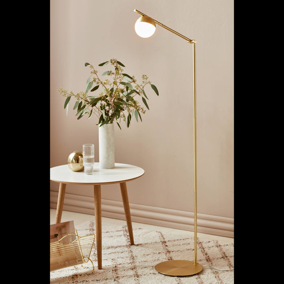 Contina Swing Arm Floor Lamp
