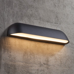 Nordlux Front LED Wall Light - 36-Black-Lampsy