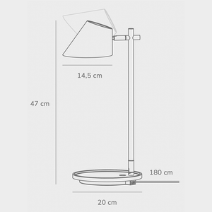 Nordlux Stay LED Table Lamp - -Lampsy