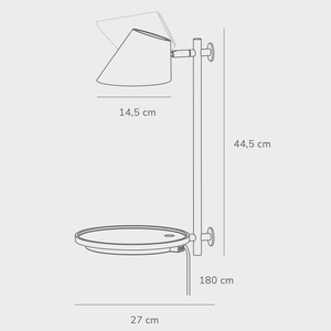 Nordlux Stay LED Wall Light - -Lampsy