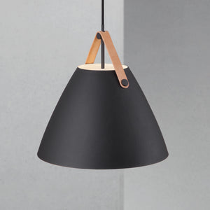 Nordlus Strap 36 Black Pendant Light