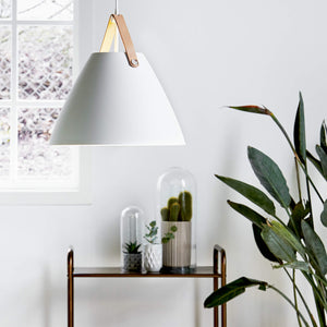 Nordlus Strap 36 White Pendant Light