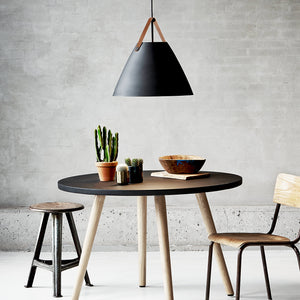 Nordlus Strap 48 Black Pendant Light