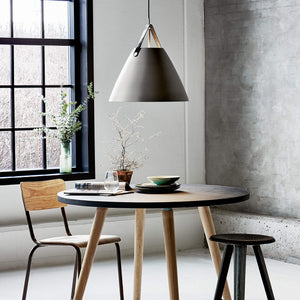 Nordlus Strap 48 Brushed Steel Pendant Light