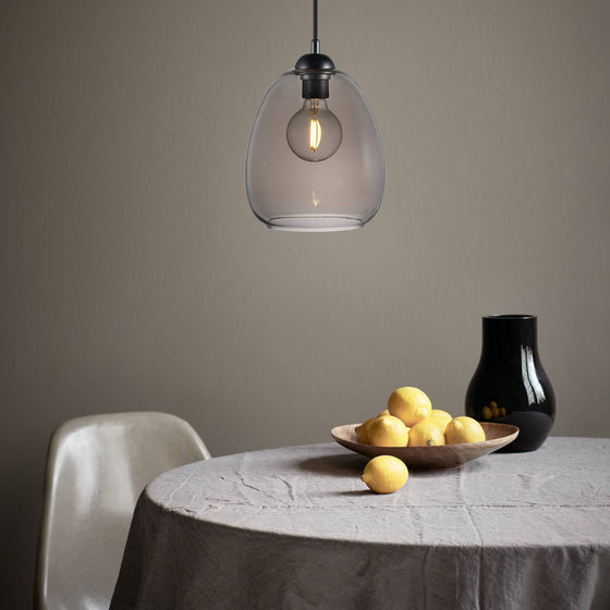 Dillon Smoke Pendant Light
