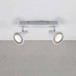 Nordlux Eik 2 Light Spotlight Bar - White-Lampsy