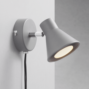 Nordlux Eik Wall Spotlight - Grey-Lampsy
