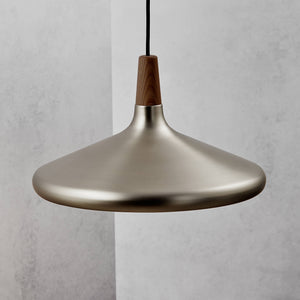 Nordlux Float 39 Pendant - Brushed Steel-Lampsy