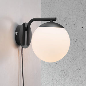 Nordlux Grant Wall Light - Black-Lampsy