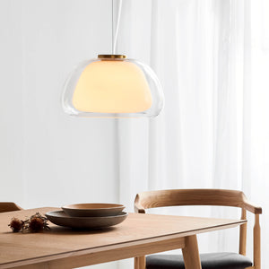 Nordlux Jelly Glass Pendant Light - -Lampsy
