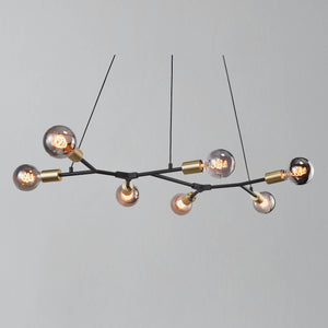 Nordlux Josefine 7 Island Branch Pendant Light - -Lampsy