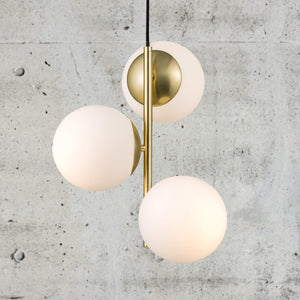Nordlux Lilly Pendant Light - Brass-Lampsy