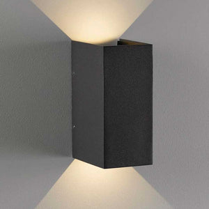 Nordlux Norma LED Wall Light - Grey - Outdoor Lighting - Lampsy