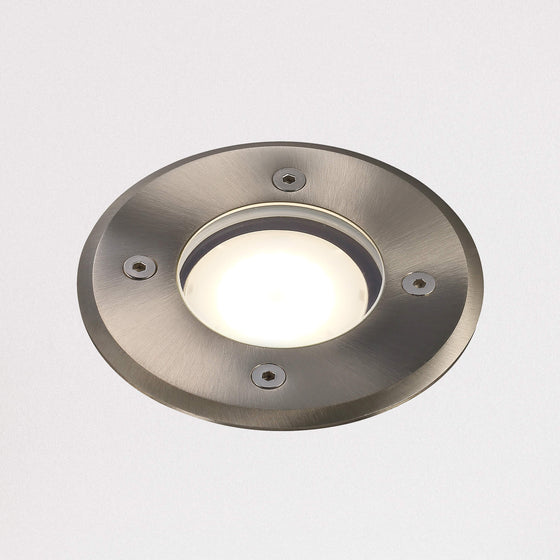 Pato Round Ground Recessed Uplighter