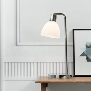 Nordlux Ray Table Lamp - Chrome-Lampsy