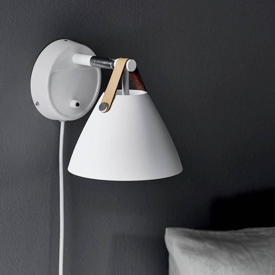 Nordlux DFTP Strap 15 Wall Light - White - Wall Lights - Lampsy