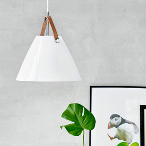 Nordlus Strap 27 Opal Glass Pendant Light