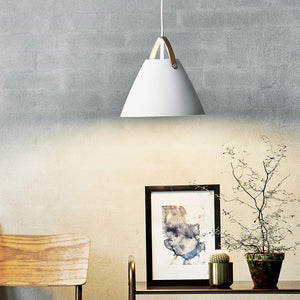 Nordlus Strap 27 White Pendant Light