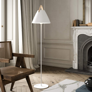 Nordlux Strap Floor Lamp - White-Lampsy