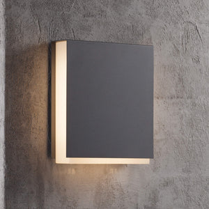 Nordlux Tamar Clips LED Wall Light - Anthracite-Lampsy