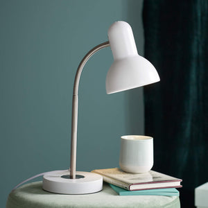 Nordlux Texas Table Lamp - White-Lampsy