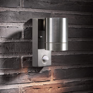 Nordlux Tin Maxi Down Sensor Wall Light - -Lampsy